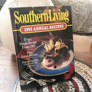 Vintage 1993 Southern Living Annual Recipes Book